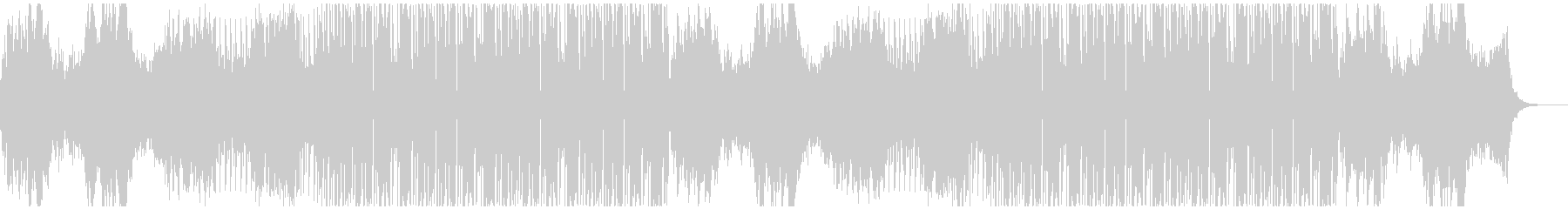 ごちゃ混ぜのコンプレックスエレクトロの未再生の波形