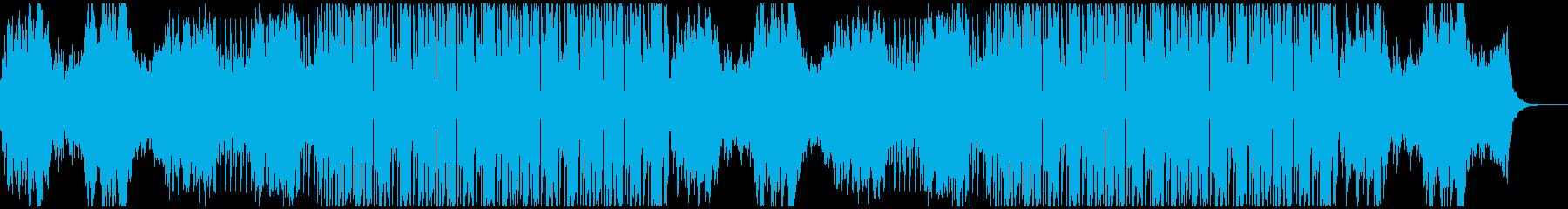 ごちゃ混ぜのコンプレックスエレクトロの再生済みの波形