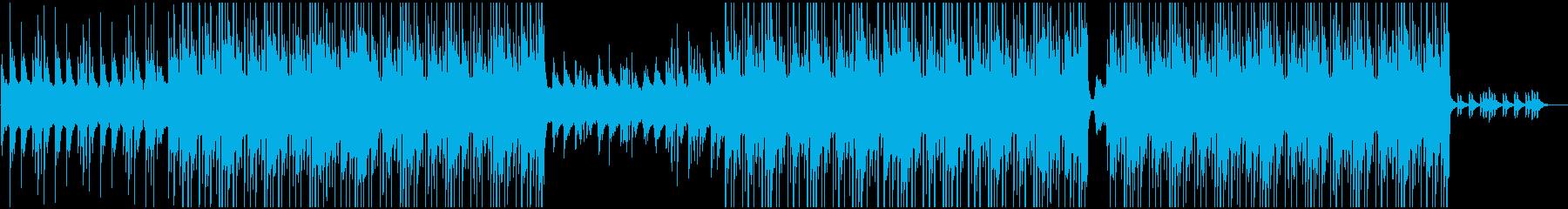 琴を使用した和風ローファイヒップホップの再生済みの波形