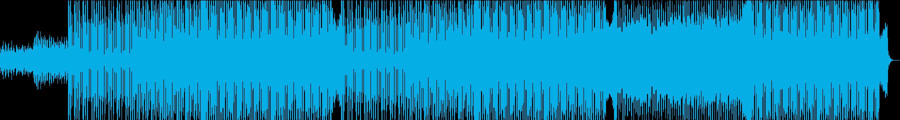 自信を醸し出すセクシーで明るい電子...の再生済みの波形