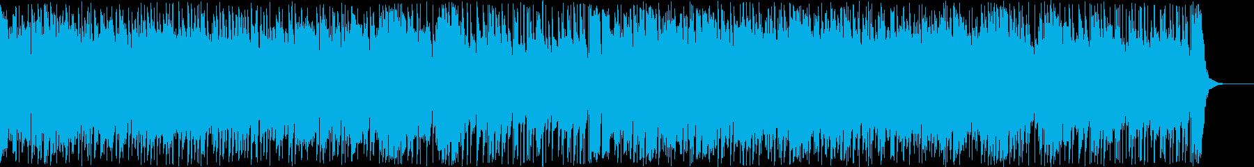 元気で疾走感のあるピアノポップスの再生済みの波形