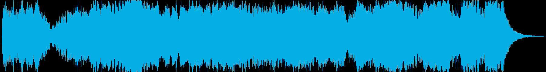 """""""星""""スペクタクルハリウッド30s-A2の再生済みの波形"""