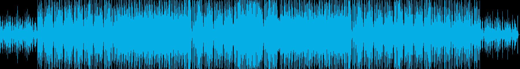 ヒップホップ・ファンキーソウルの再生済みの波形