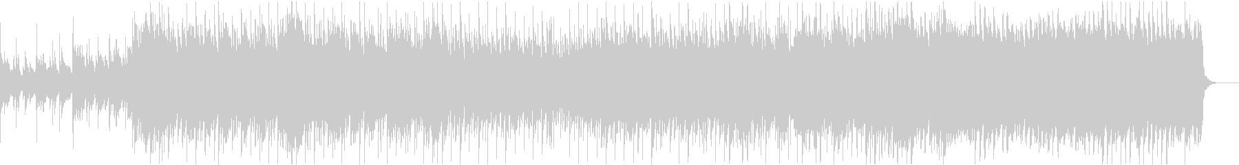結婚式に適したピアノポップインストの未再生の波形