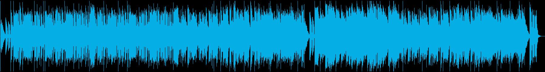 シンセ中心のコミカル曲_ショートの再生済みの波形