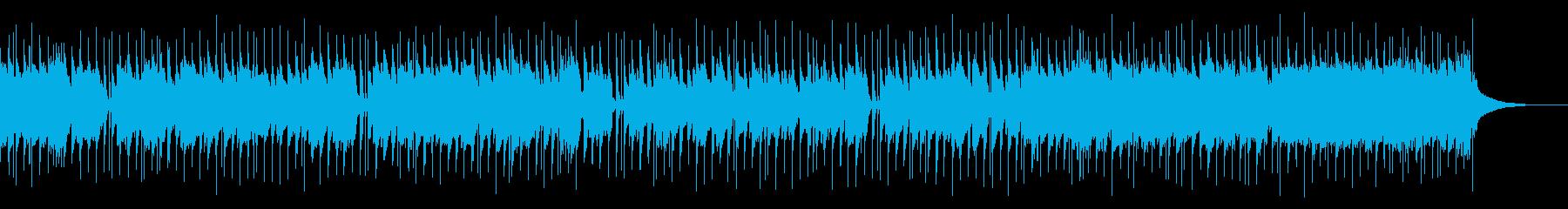 こども向けのほんわかBGMの再生済みの波形
