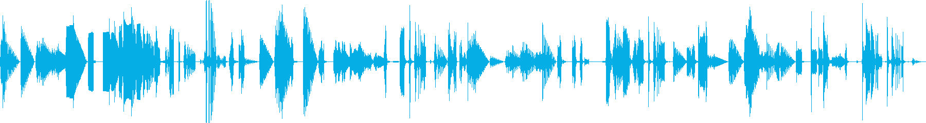 ヘビーチャンネルサーフィン通信干渉の再生済みの波形