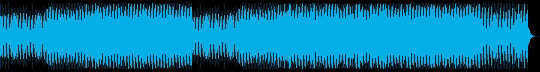 ビデオ。レトロ。シンセウェーブ。の再生済みの波形