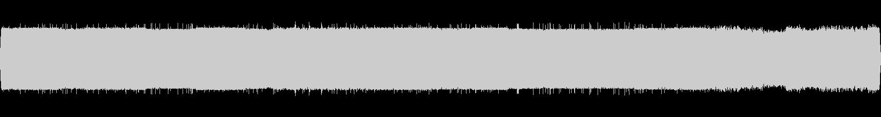 シンセが静的バズを生成しました。静...の未再生の波形