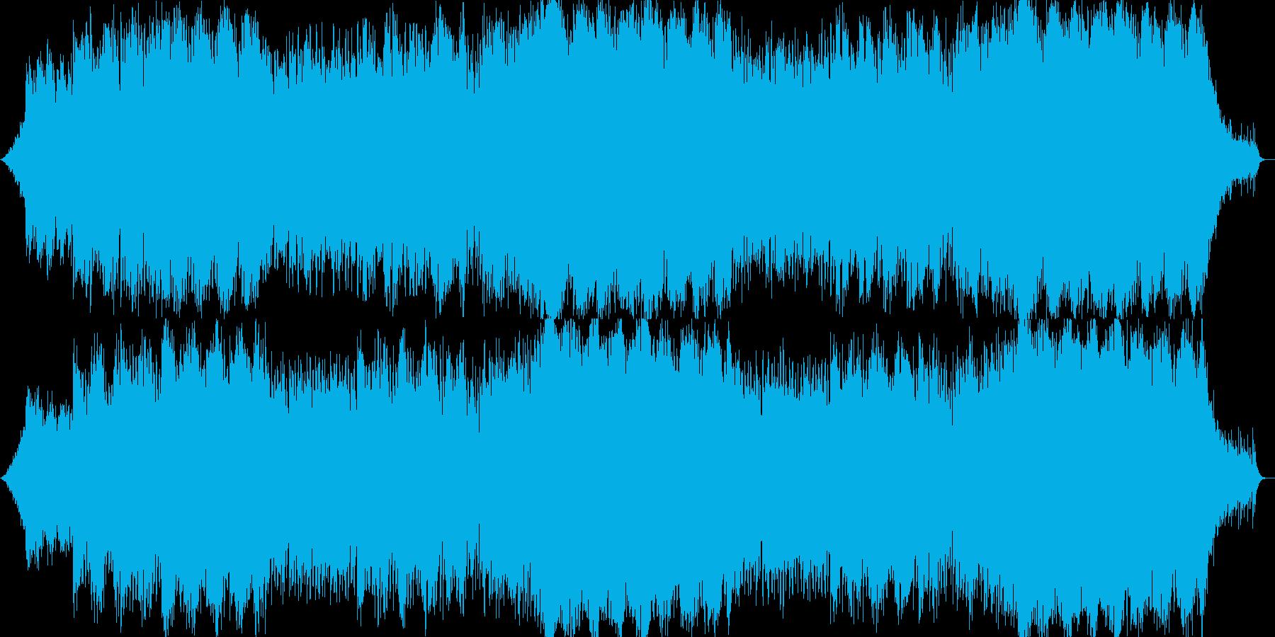 キラキラ系テクノポップの再生済みの波形