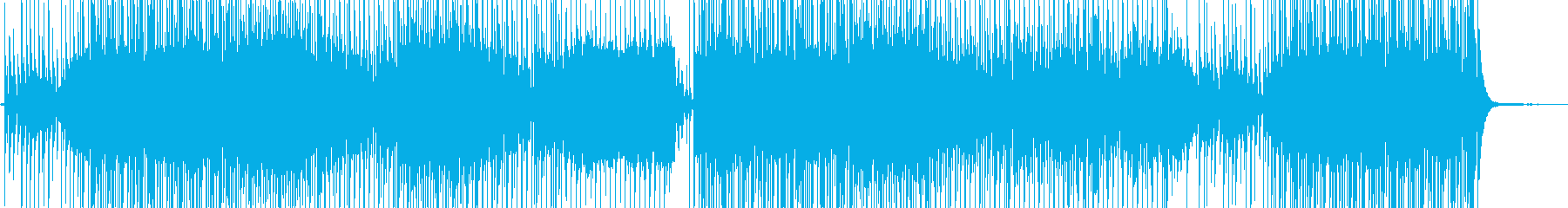 電気楽器。高騰、インスピレーション...の再生済みの波形