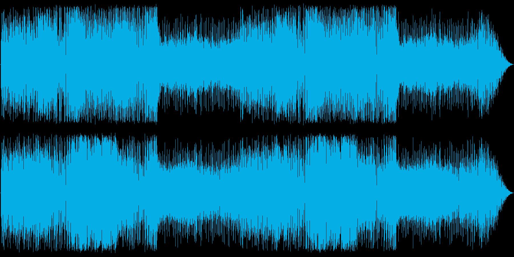 アコーディオンとチェロの港町らしい曲の再生済みの波形