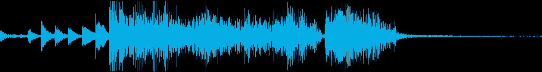スマートな大人ジャズジングルの再生済みの波形
