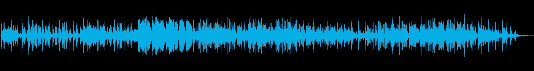 ホスピタリティなやさしいリラックスピアノの再生済みの波形