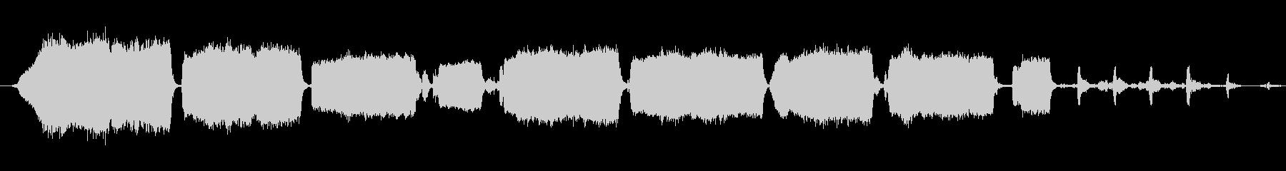 鳴き豚0-50の未再生の波形