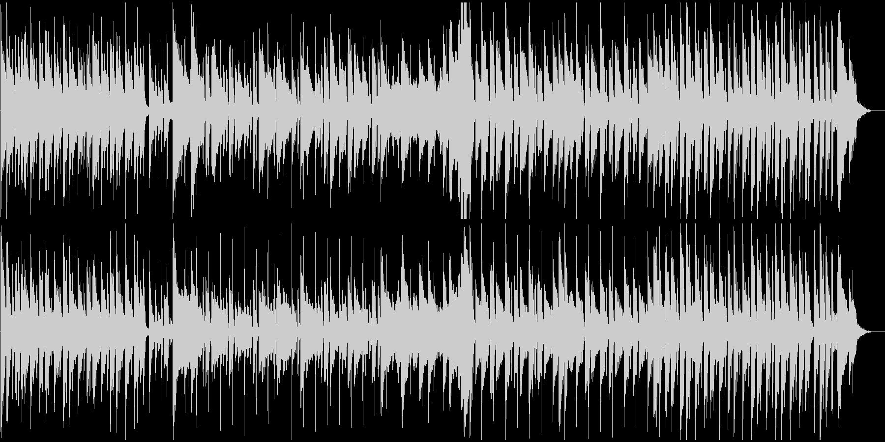 冒険、ウキウキする軽快なピアノBGMの未再生の波形