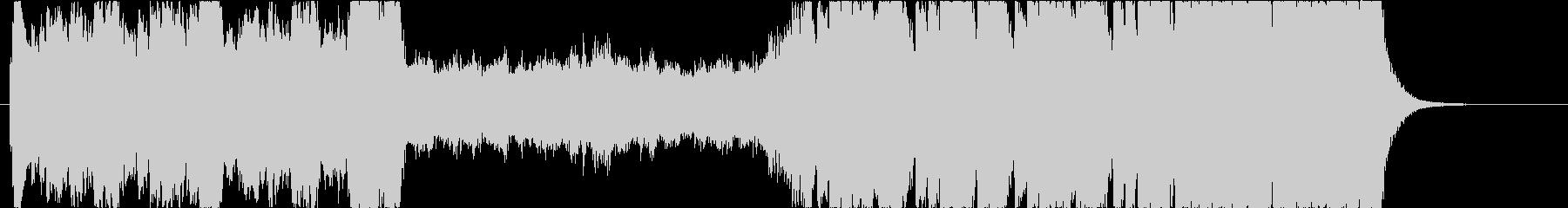 シネマティックヒーロー型EPICサウンドの未再生の波形