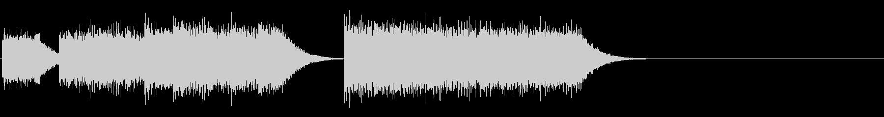 レトロゲームファンファーレ/短い軽い11の未再生の波形