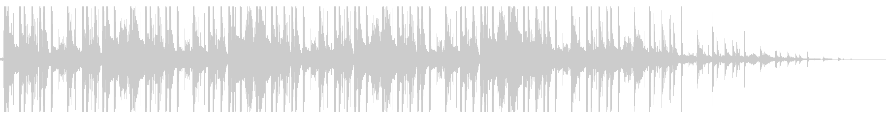 ローファイ/Hiphop_No382_3の未再生の波形