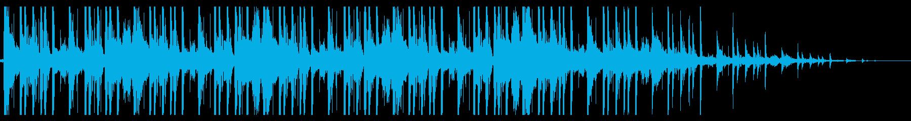 ローファイ/Hiphop_No382_3の再生済みの波形
