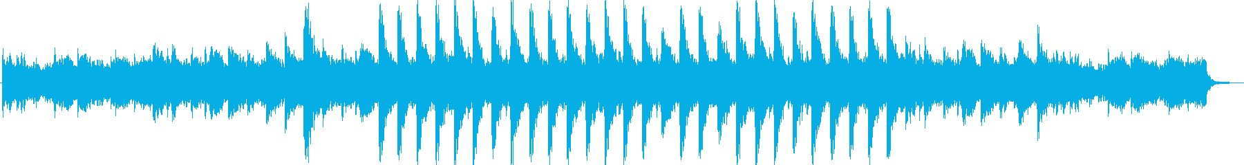 壮大なBGM1の再生済みの波形