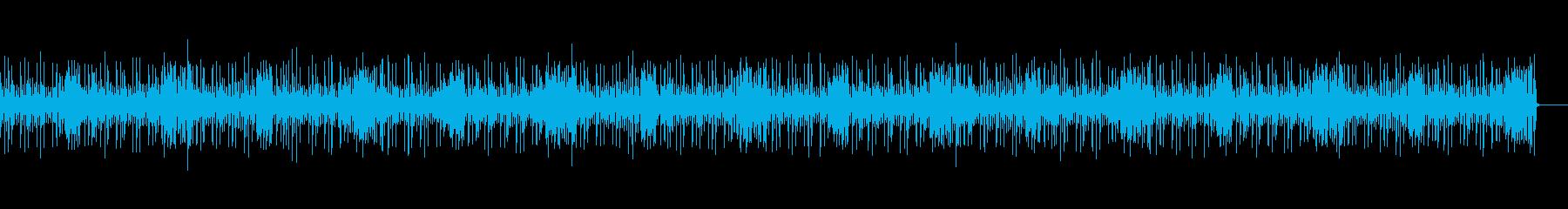 軽快で爽やか、かわいいBGM向けジャズの再生済みの波形