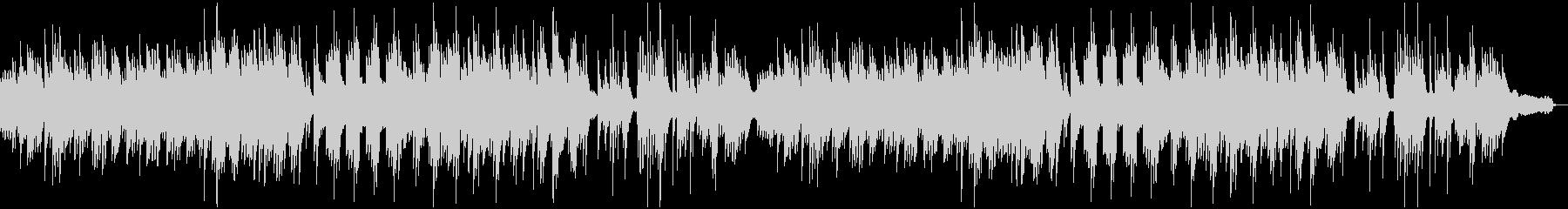 やさしいゆったりとした3拍子のピアノソロの未再生の波形