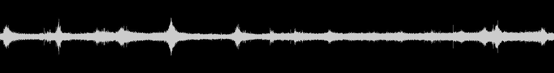 波4の未再生の波形