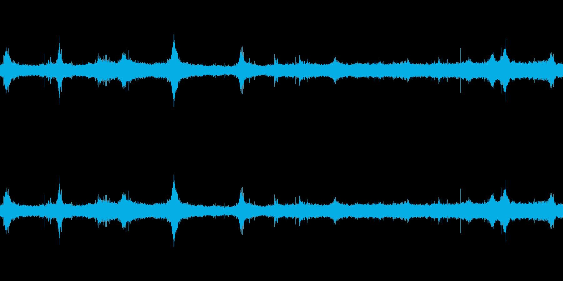 波4の再生済みの波形