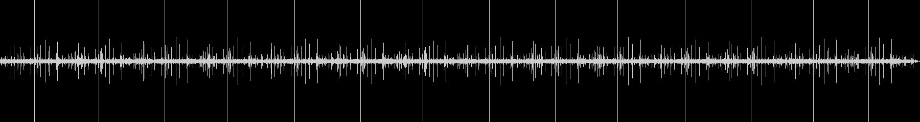 焚き火音(薪が燃え始めた序盤の焚き火音)の未再生の波形