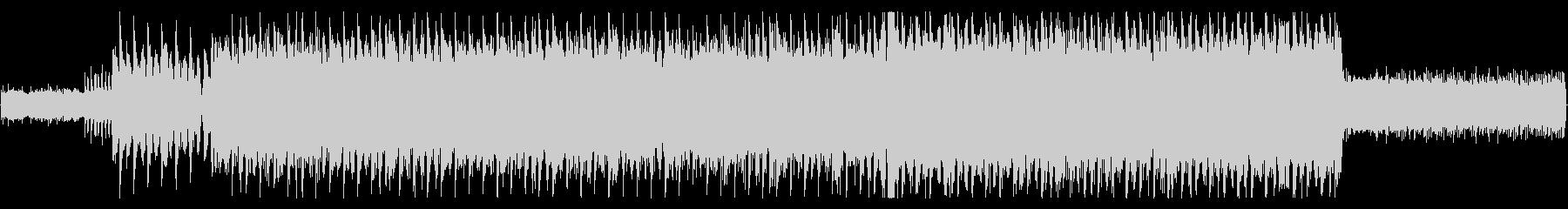 重低音効く情熱的なロックの未再生の波形