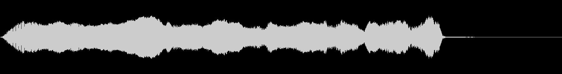 バイオリン:ロングスライドアップ、...の未再生の波形