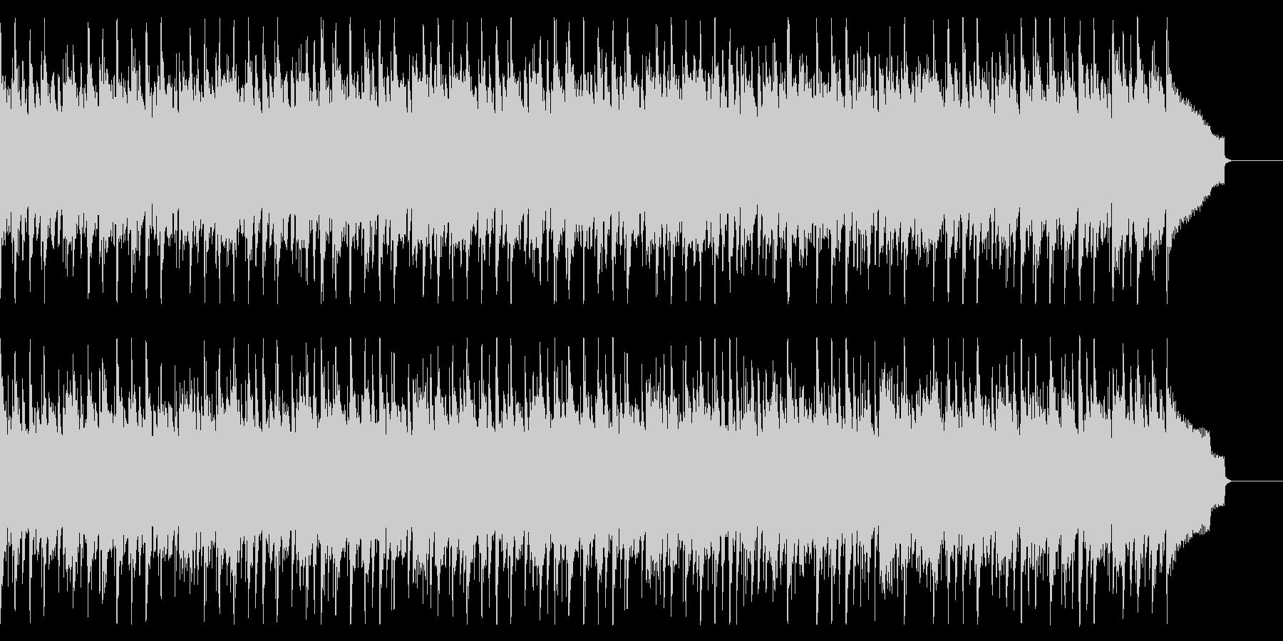 シンプルで軽快な木琴とアコギのジャズの未再生の波形