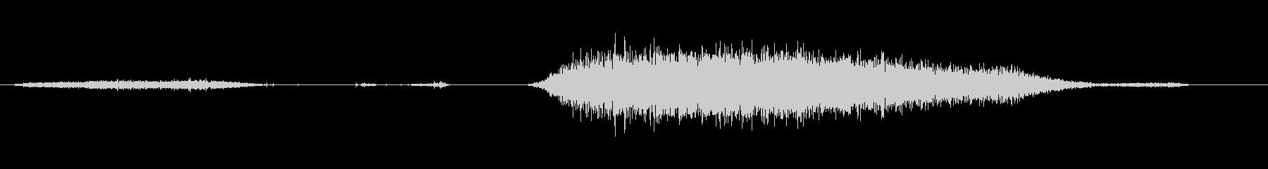 爆風、シングルブレスラバー、バルー...の未再生の波形