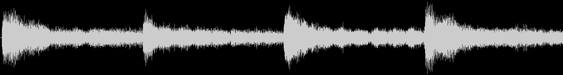 ハローウィン用のホラー曲-ループ4の未再生の波形