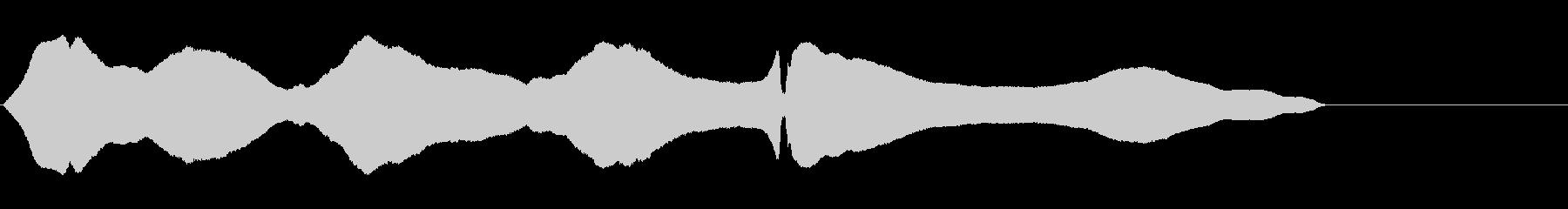 トロンボーン:ゆらゆら揺れる、漫画...の未再生の波形