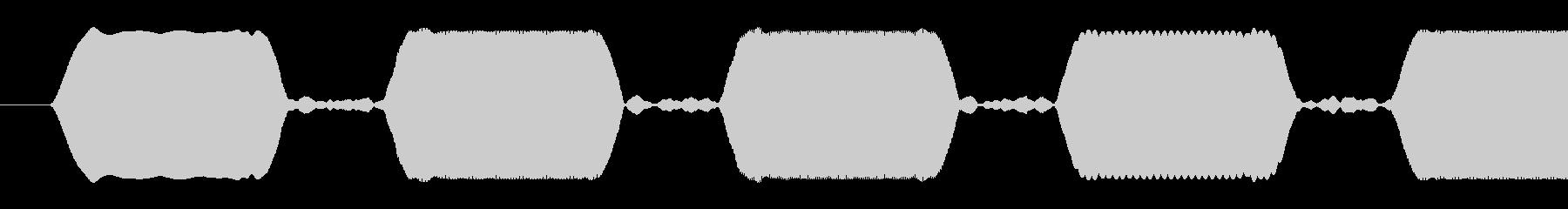 ビープ音-複数-短いの未再生の波形