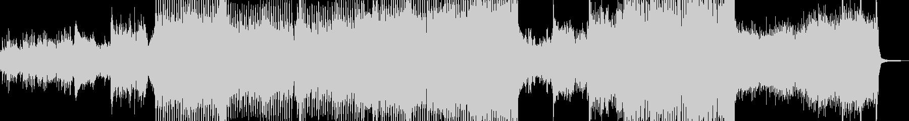メルヘン・ファンタジックなテクノの未再生の波形