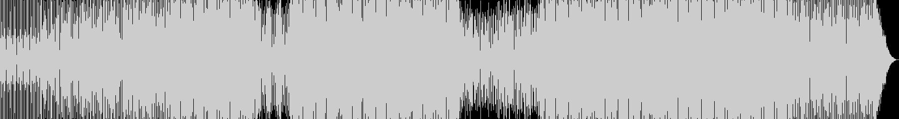 有名な音とラップ、ループされたスピ...の未再生の波形