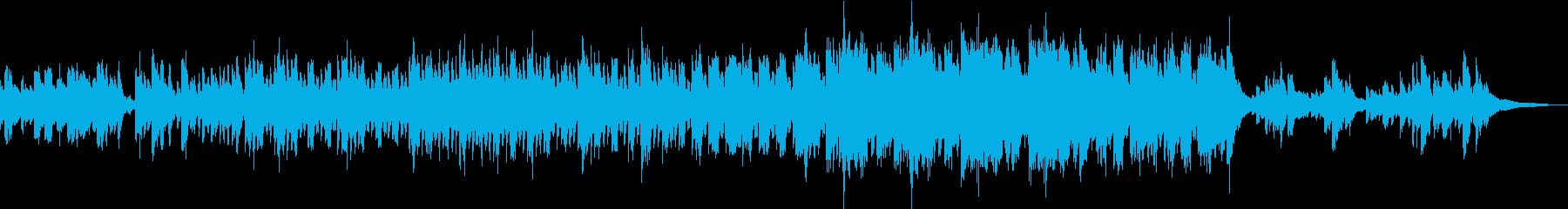 和風な空間を演出する日本琴の優雅な演奏曲の再生済みの波形