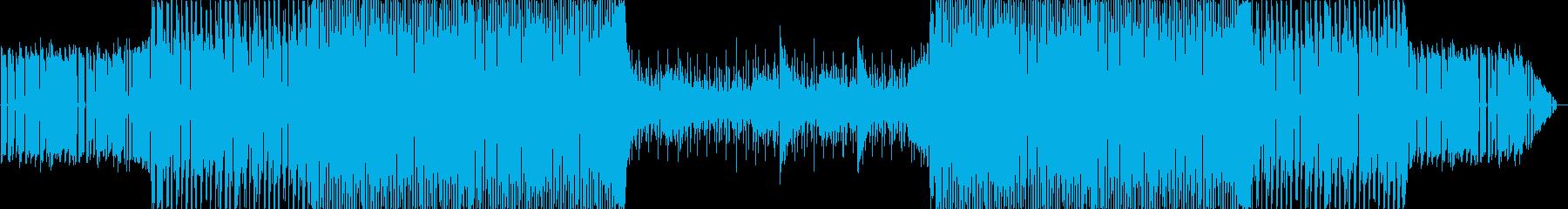 力強くスタイリッシュなフューチャーベースの再生済みの波形