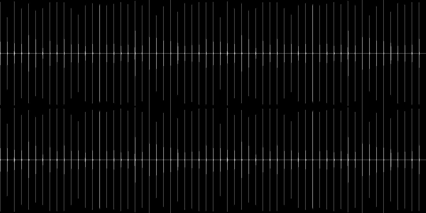 時計1 秒針 1分 ループ可の未再生の波形