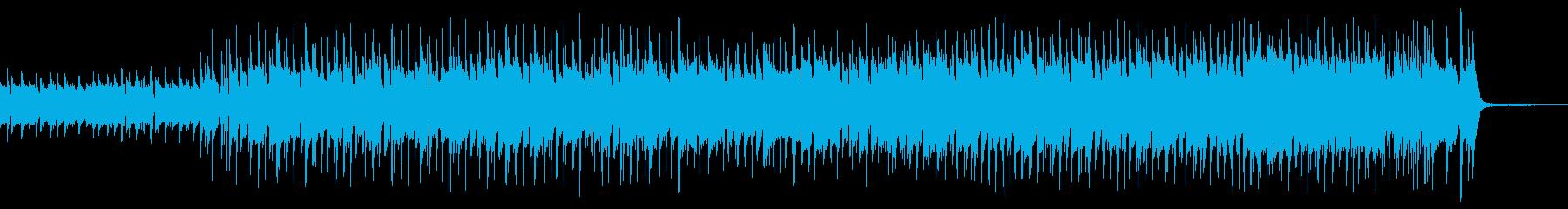 【企業VP】サックスと木琴の軽快なロックの再生済みの波形