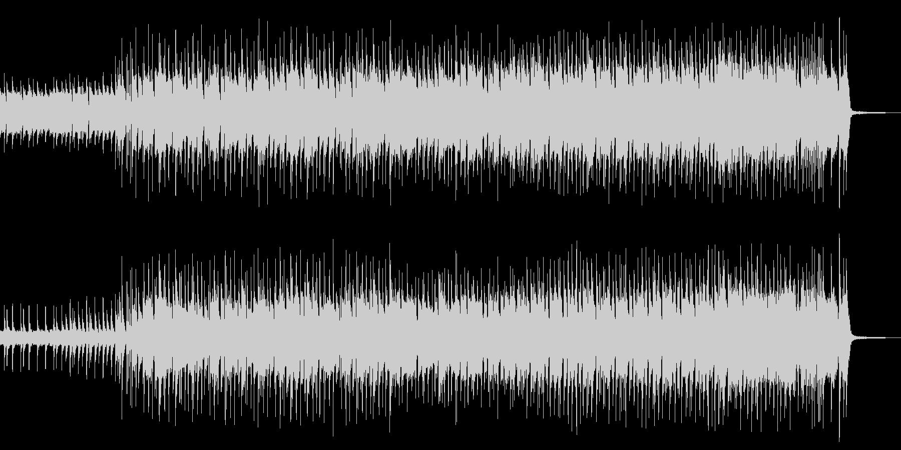 【企業VP】サックスと木琴の軽快なロックの未再生の波形