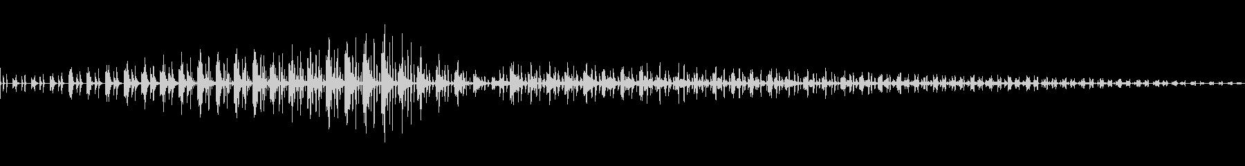 SF的機械音の未再生の波形