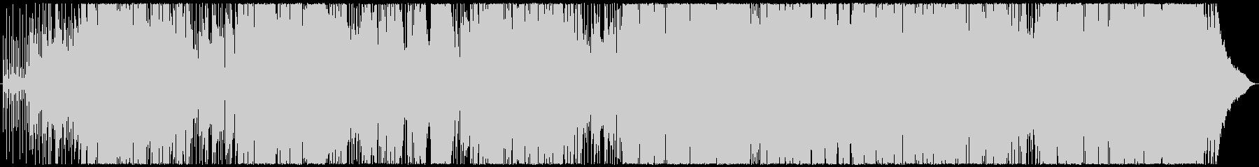 ピアノ主体のポップスの未再生の波形