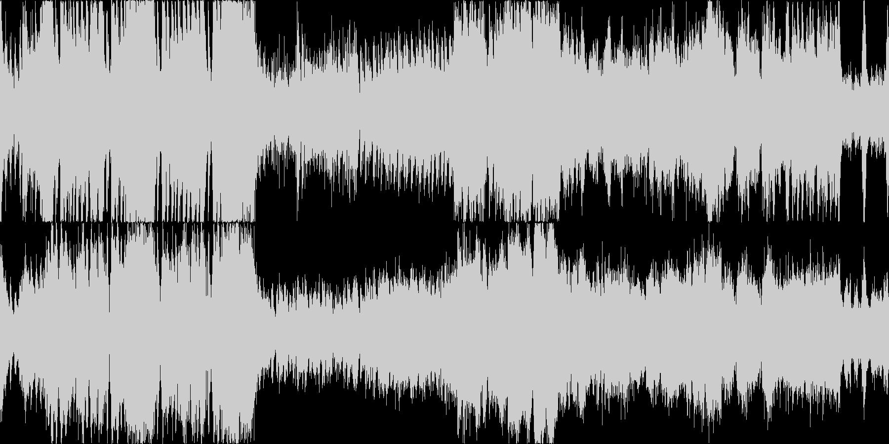 バトル系オーケストラループ曲です。の未再生の波形