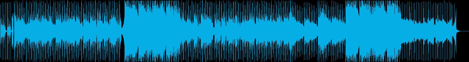 Hip Hop Beat の再生済みの波形