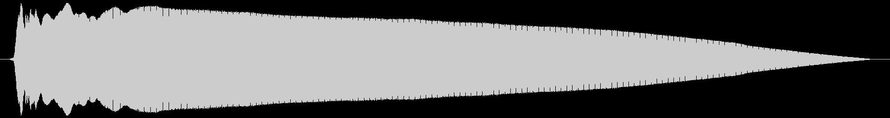 レゲエホーン (低く、長め)の未再生の波形