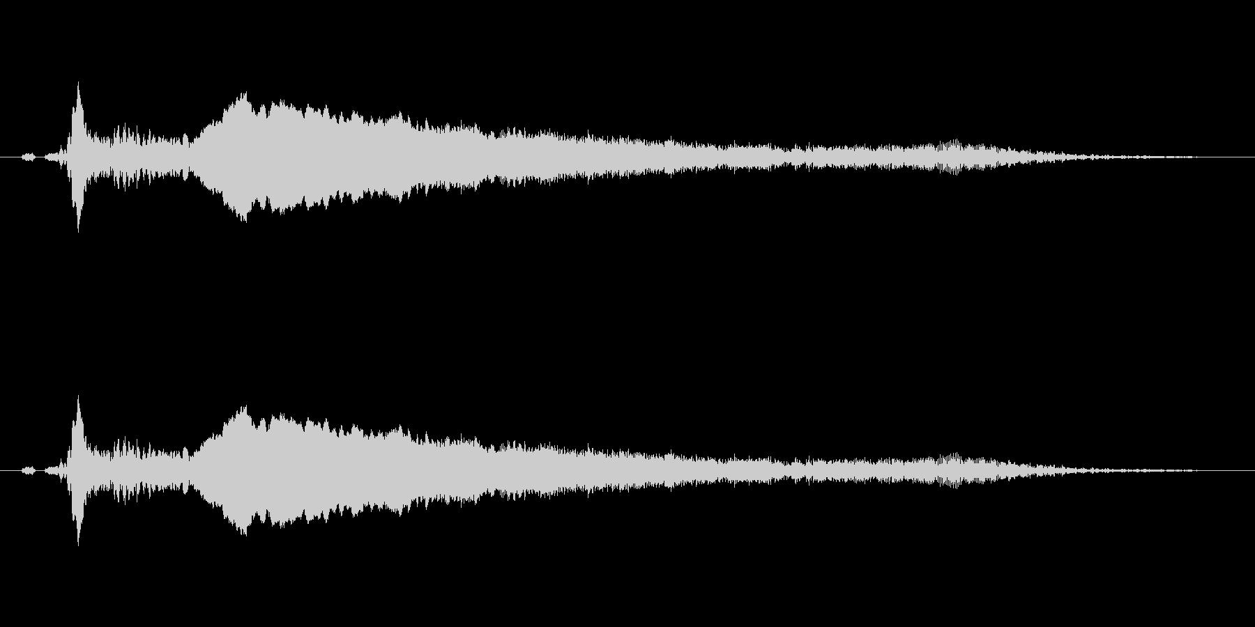 【鷹】とてもリアルな鷹、たかの鳴き声2!の未再生の波形